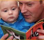 Voorlezen aan temperamentvolle baby's stimuleert taalontwikkeling