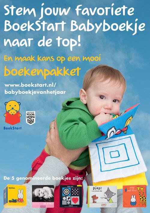Stem op jouw favoriete BoekStart Babyboekje van het Jaar 2013