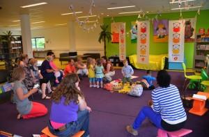 Workshop Muziek op schoot - Foto: Caroline Piso