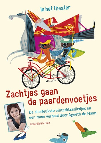 Flyer Sinterklaasvoorstelling Ageeth de Haan