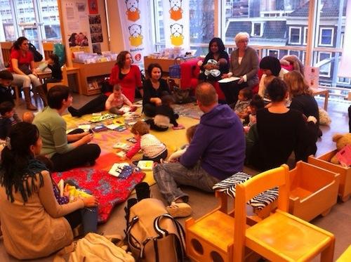 BoekStartkaravaan in Den Haag - januari 2014