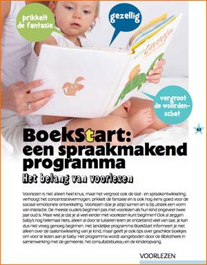 Lees hier de insert van BoekStart in Why's met kleintjes, augustus 2014