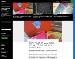 Blog BoekStart: 5,5 maand en lid van de bibliotheek!