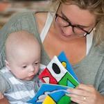 BoekStart voorlezen aan baby
