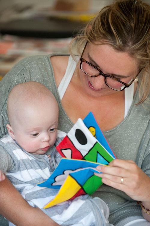 Voorlezen aan je baby