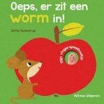 9789048313235 Oeps, er zit een worm in Britta Teckentrup Veltman
