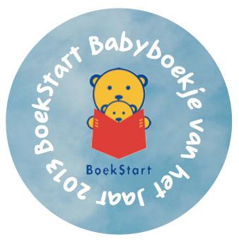 BoekStart Babyboekje van het Jaar 2013 rond logo