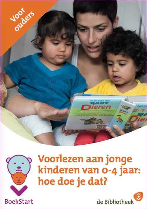 Download de folder Voorlezen aan jonge kinderen van 0-4-jaar: hoe doe je dat? ouderversie