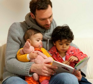 Vader leest voor