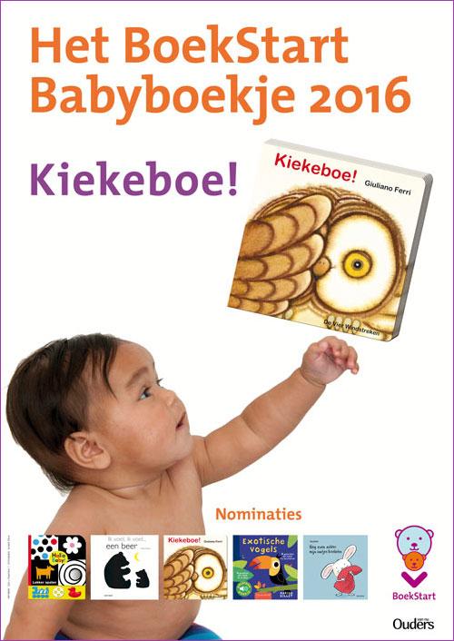 BoekStart Babyboekje 2016 Kiekeboe!