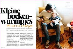 Lees het interview Kleine boekenwurmpjes