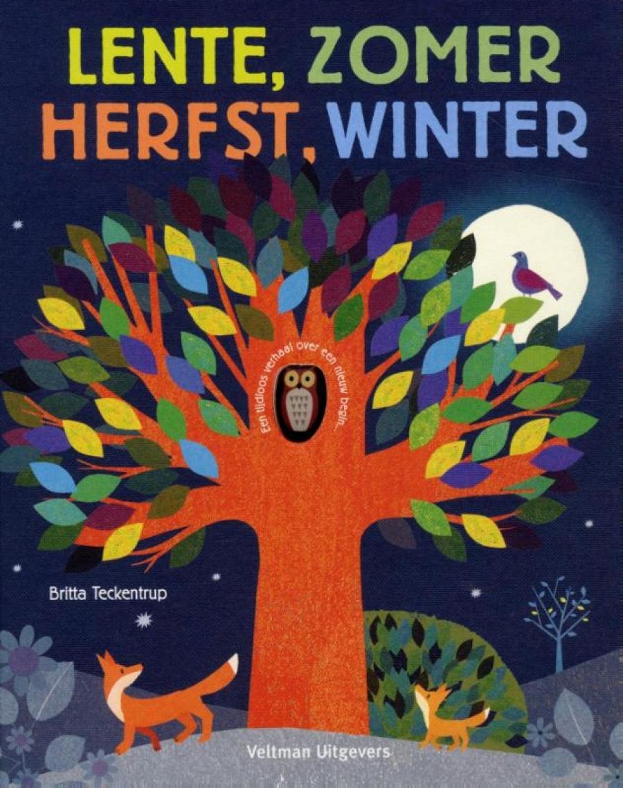 Lente, zomer, herfst, winter | Britta Teckentrup