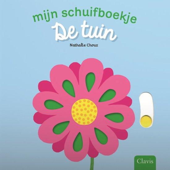 Boekomslag Mijn schuifboekje - De Tuin' van Nathalie Choux (Clavis).