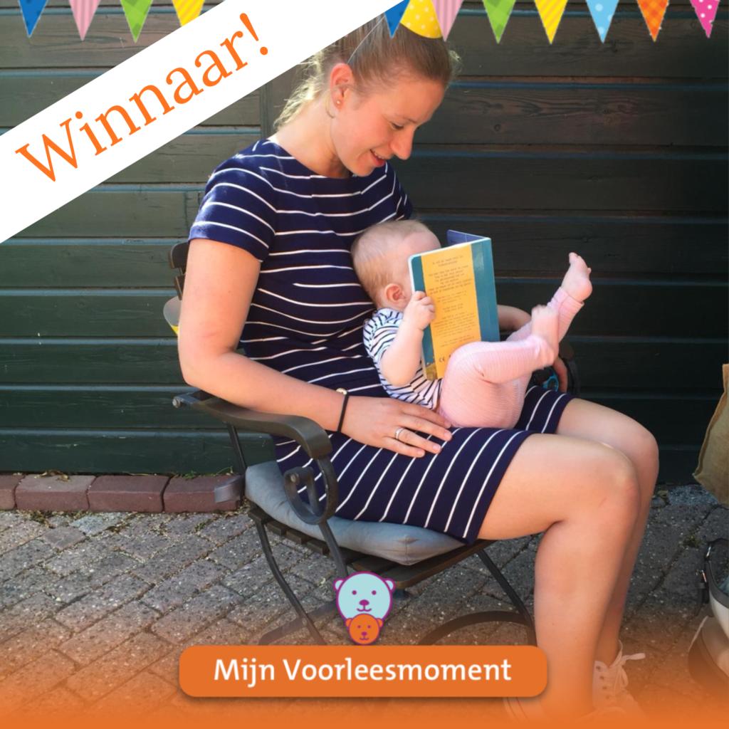 Noor en Merel zijn de winnaars van #Mijnvoorleesmoment (september 2019)
