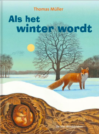 Boekomslag 'Als het winter wordt' van auteur Thomas Müller.