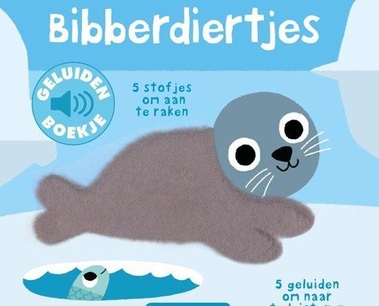 Boekomslag van het geluidenboekje 'Bibberdiertjes' van auteur Marion Billet.