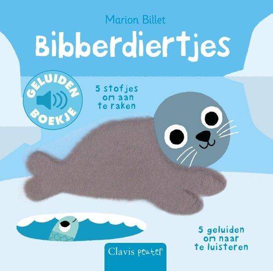 Een kartonnen spektakel om je baby's ontwikkeling te stimuleren: dikke, glanzende pagina's vol fonkelende sneeuwvlokken, fluweelzachte dieren en de geluiden die ze maken. Kijken, voelen én luisteren dus!