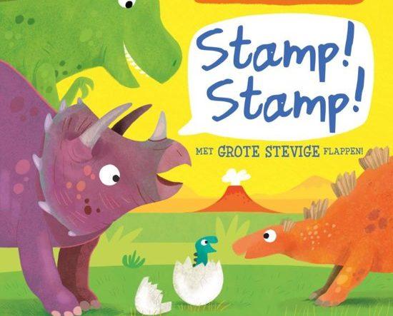 Onze boekentip voor je dreumes van februari 2019 is het flappenboekje 'Hoe doet dit dier? Stamp! Stamp!'