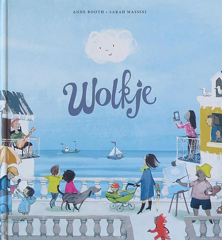 Onze lentetip voor peuters 2019 is 'Wolkje' van Anne Booth (uitgeverij Ploegsma).