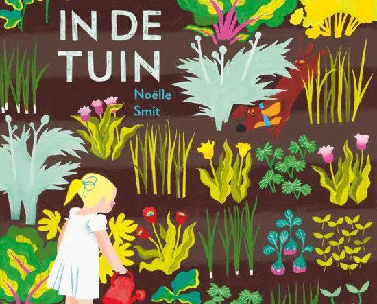 Onze tip voor kleuters van juni is 'In de tuin' van Noëlle Smit, uitgeverij Querido.
