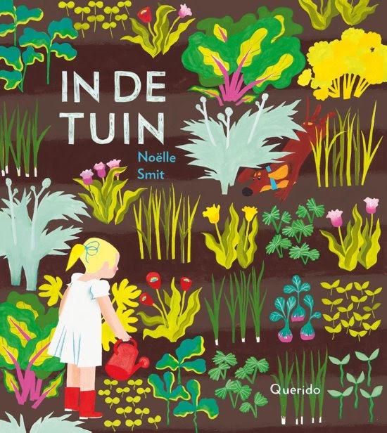 Onze BoekStart boekentip voor kleuters van juni 2019 is 'In de tuin' van Noëlle Smit, uitgeverij Querido.