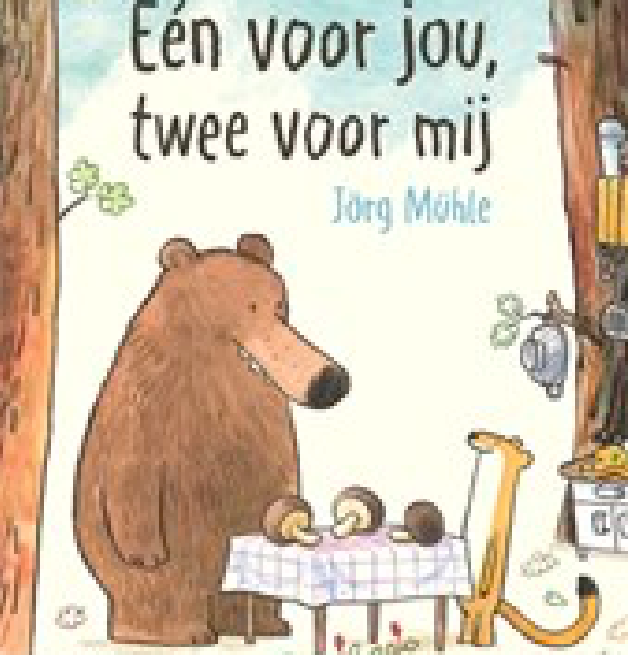 'Eén voor jou, twee voor mij' is de BoekStart-boekentip voor je peuter.