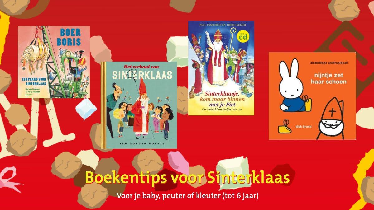 BoekStart boekentips november 2019, thema sinterklaas