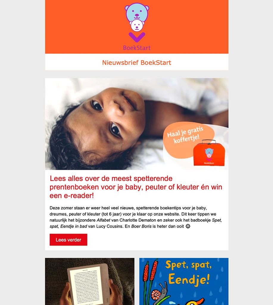 BoekStart Nieuwsbrief Ouders 2018/3: Het is een échte voorleeslente!