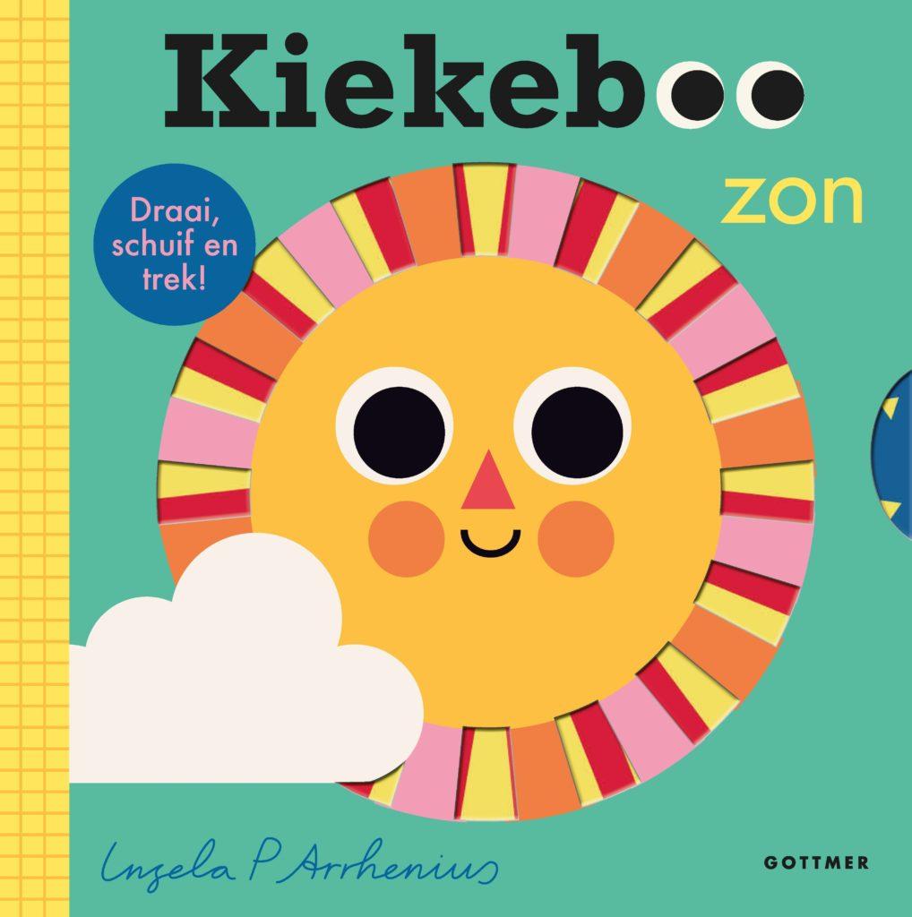 Boekomslag 'Kiekeboe Zon' van Ingela P. Arrhenius