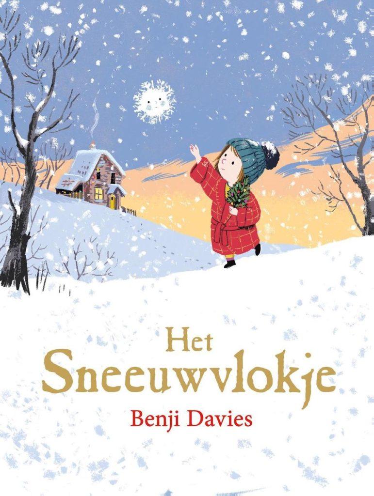 Boekomslag 'Het Sneeuwvlokje' van auteur Benji Davies.