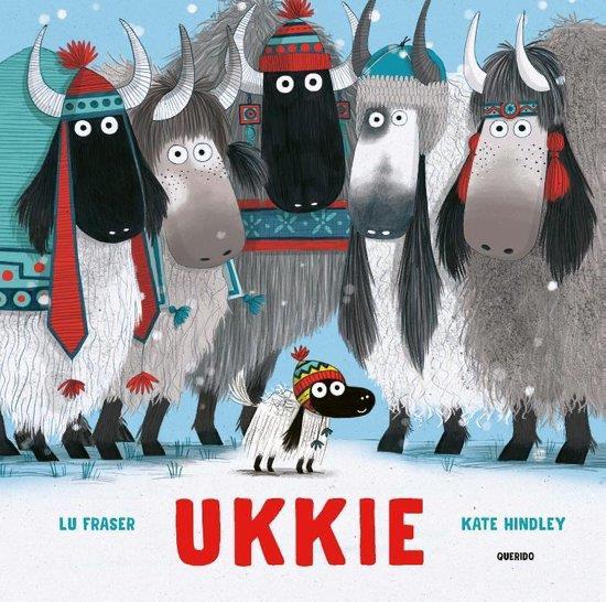 Boekomslag 'Ukkie' van auteur Lu Fraser.