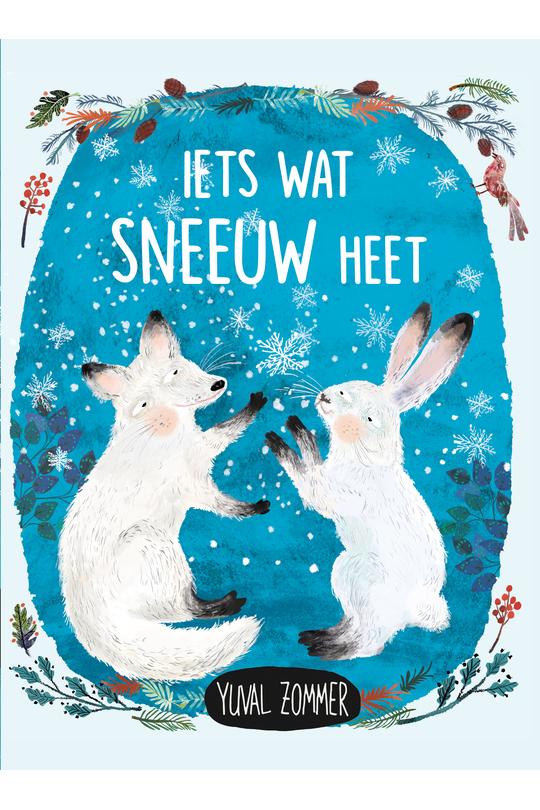 Boekomslag 'Iets wat sneeuw heet' van auteur Yuval Zommer.