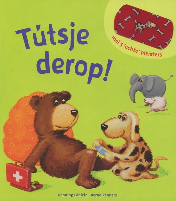 Foarkant Frysk ôfbyldingsboek 'Tútsje derop!' troch Bernd Penners en Henning Löhlein. It is ús Fryske boektip foar jo pjut.