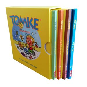 Tomke en de seizoenen (4 boekjes yn in kassette)
