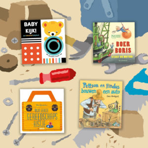 Nieuwe, stoere boekentips voor je baby, dreumes, peuter of kleuter (mei 2021) – thema: klussen