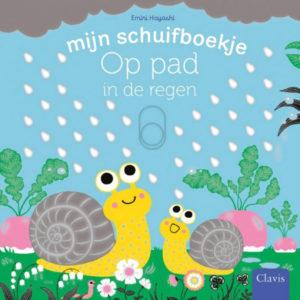 Mijn schuifboekje – Op pad in de regen