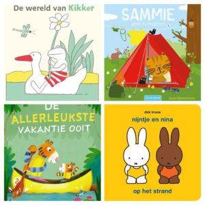 Nieuwe zomerse boekentips voor je baby, peuter of kleuter. Thema: kamperen!