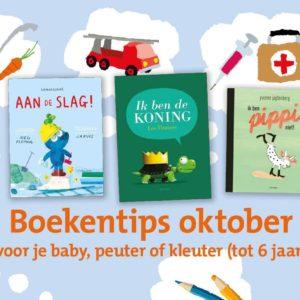 Kinderboekenweek – Vijf nieuwe boekentips over beroepen